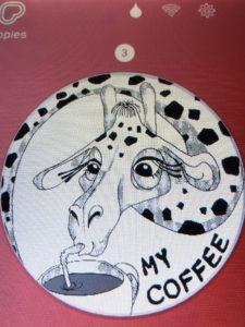 キリンのイラスト