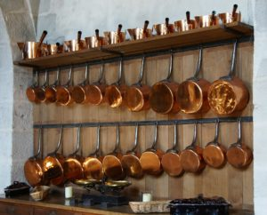 銅鍋の使い方