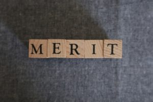 メリット文字ブロック