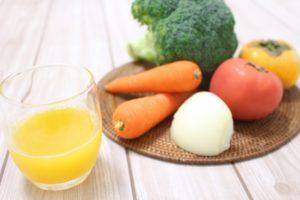 黄色い野菜ジュース