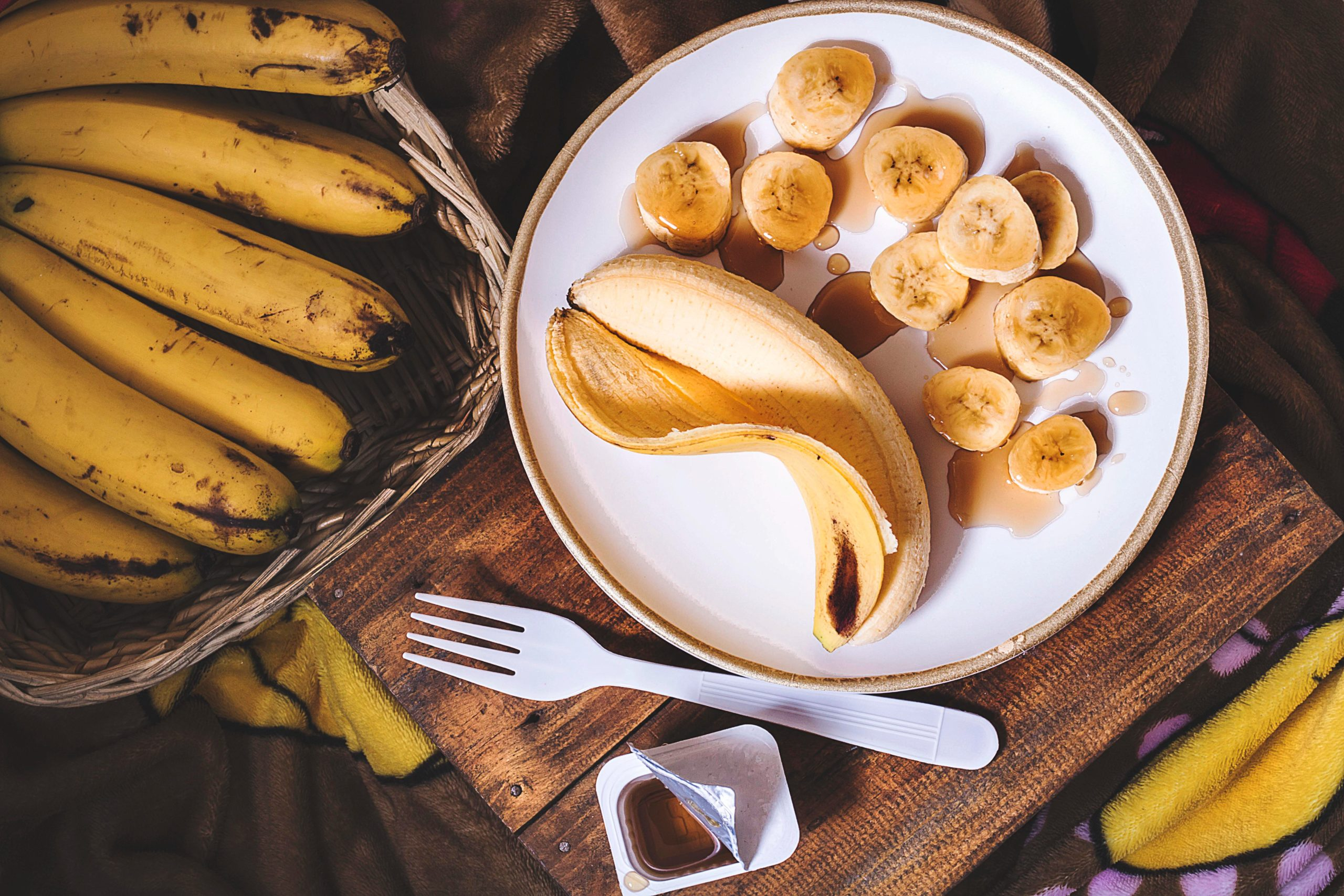 バナナミルクシェイク